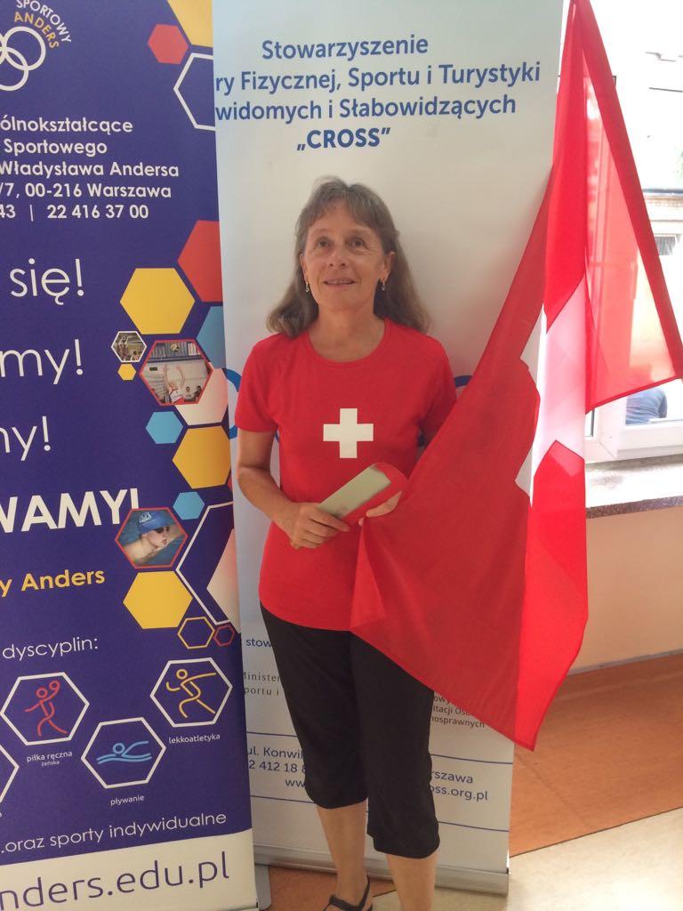 Rita Dütsch an der EM 2018